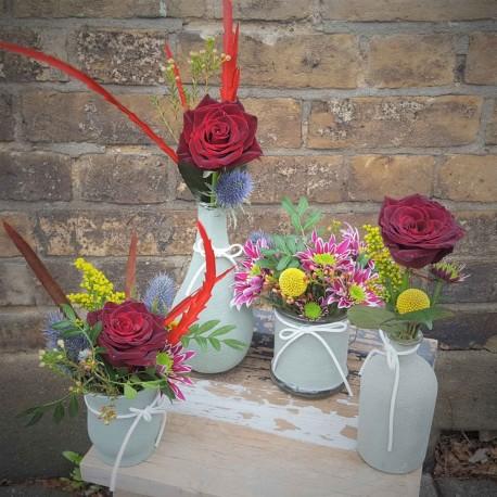 Four Vases Arrangement