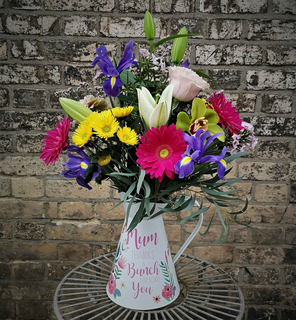**Mother's Day Jug (vibrant)**