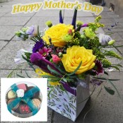 **Vibrant Flowers and Chocolates**
