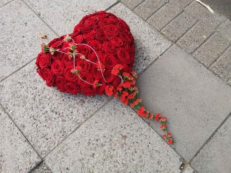 Bespoke Rose Heart