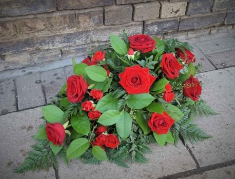 Funeral Rose spray