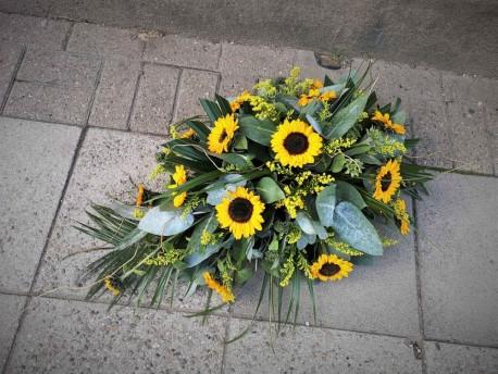 Funeral Sunflower spray