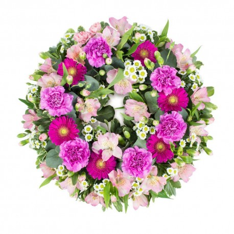 Wreath in Pink
