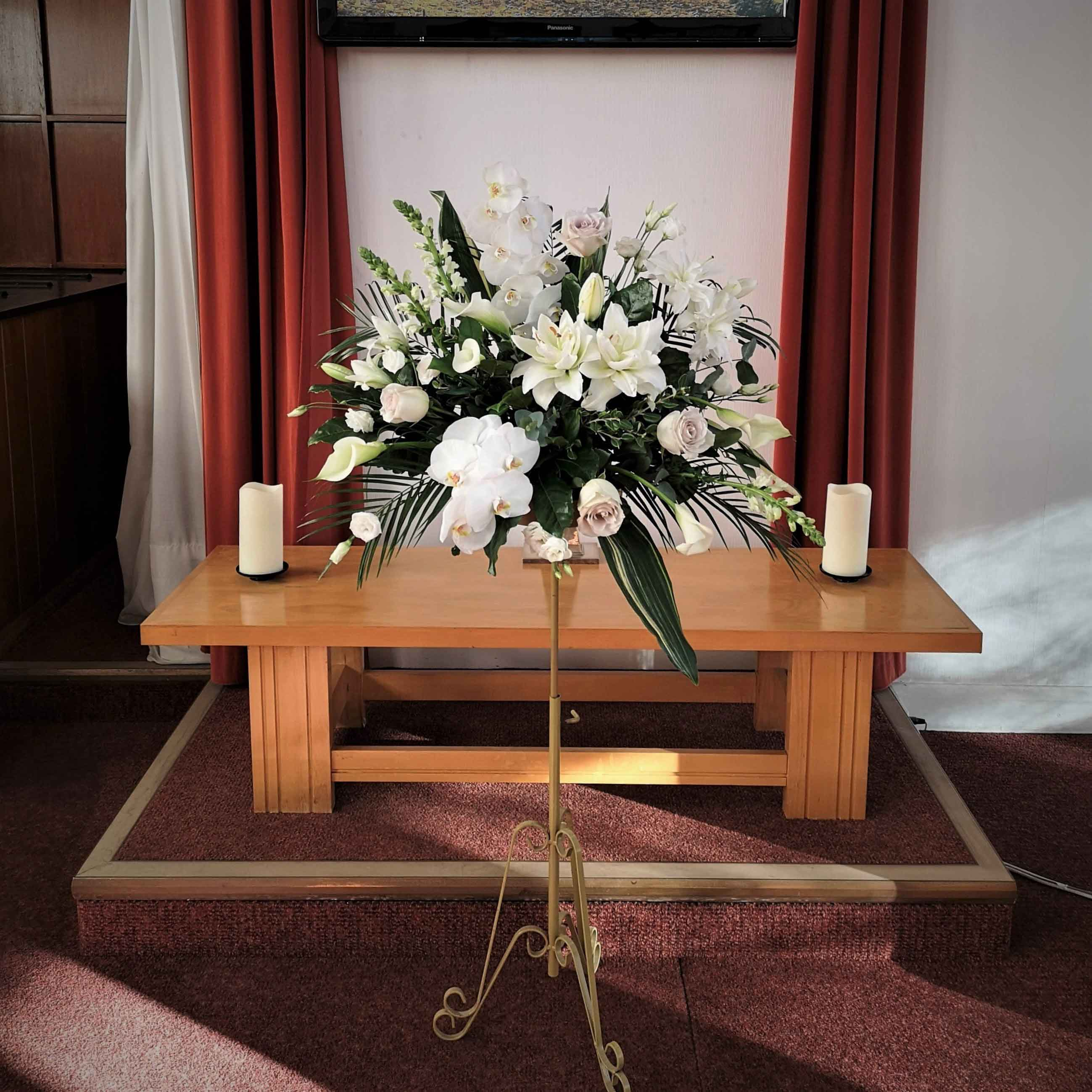 Funeral Pedestal display