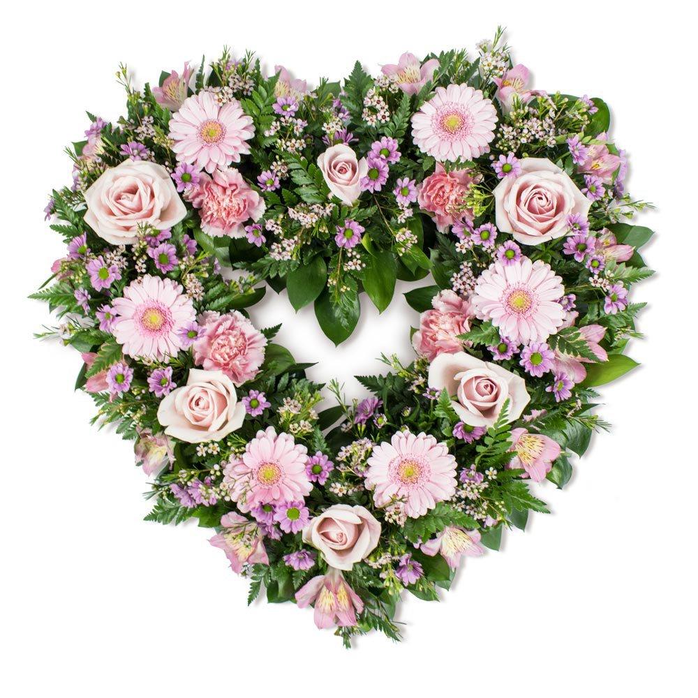 Open Heart in Pink