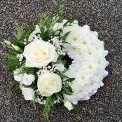 White Massed Wreath