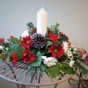 Pillar Candle Centrepiece